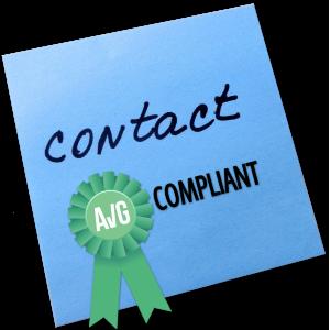 Contactformulier AVG compliant maken